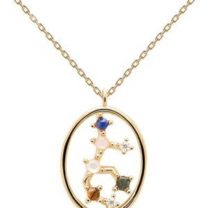 PDPAOLA - Collana Bilancia - Argento Sterling 925 Placcato in Oro 18 carati - Gioielli per Donna