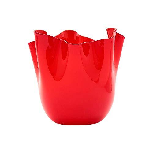 Venini Vaso Fazzoletto Rosso 700.02